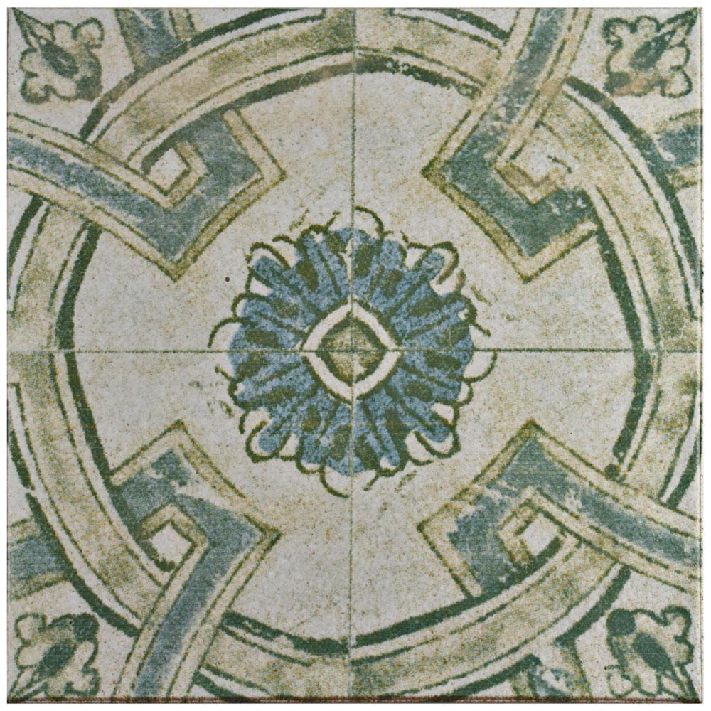 Klinker Retro Blanco Coreo 12-3/4 in. x 12-3/4 in. Ceramic Floor and Wall Quarry Tile