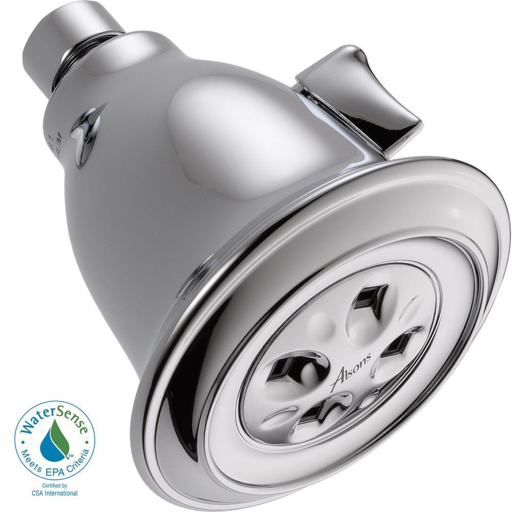 Delta 1-Spray 3.91 in Fixed Showerhead
