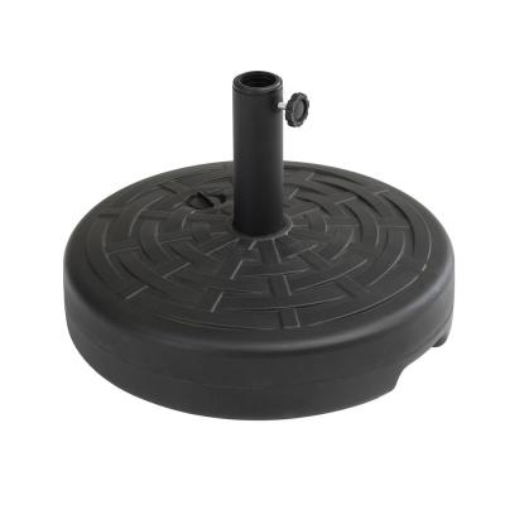 Karen 5 lbs. Universal Black Patio Umbrella Base