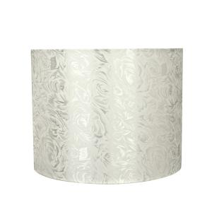 5cd2553b38a0 14 in. x 11 in. Off White Hardback Drum/Cylinder Lamp Shade. Aspen Creative  Corporation ...
