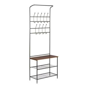 Deal for Honey Can Do Entryway Coat Rack and Shoe Rack Combo for 38.19