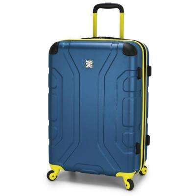 Sky High 26 in. Teal Expandable Hardside Spinner
