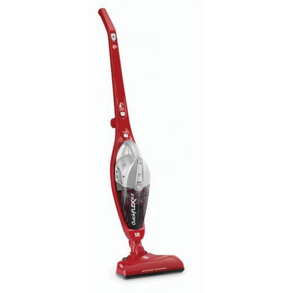 Dirt Devil Quick Flex 2-in-1 12-Volt Cordless Bagless Stick Vacuum and Handheld Vacuum Cleaner