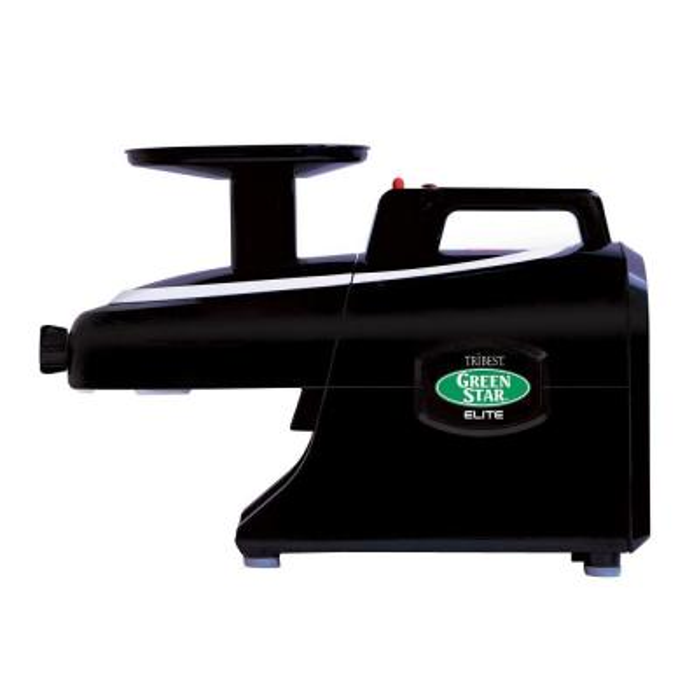 Greenstar Elite 24 fl. oz.  Jumbo Twin Gear Black Masticating Juicer