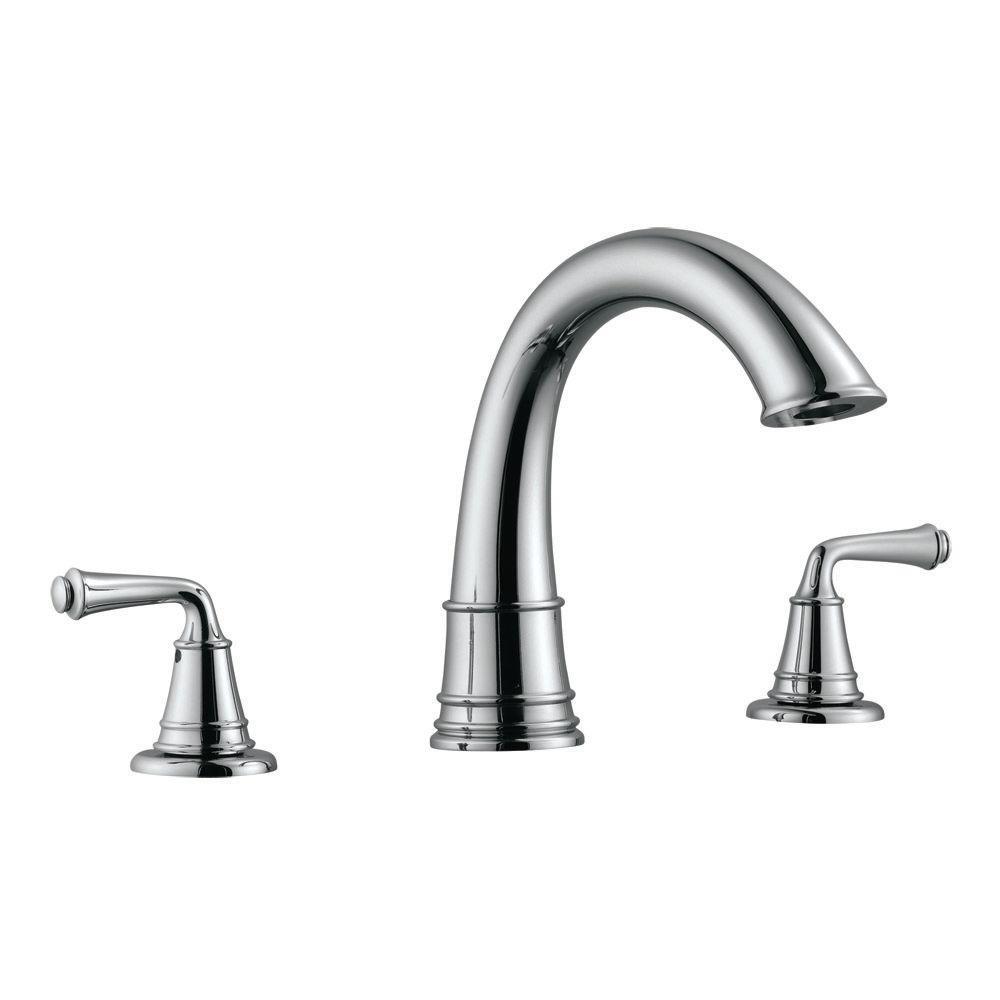 Design House Eden 2 Handle Surface Mount Roman Tub Faucet