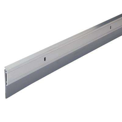2 in. x 36 in. Premium Aluminum and Vinyl Door Sweep in Aluminum