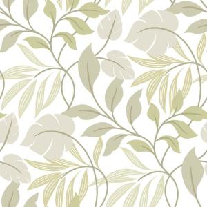 NuWallpaper White Neutral Meadow Peel And Stick Wallpaper by NuWallpaper