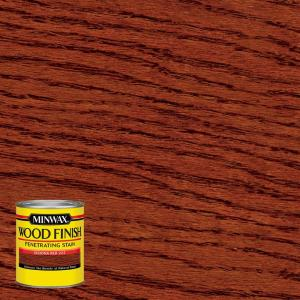 Minwax 8 Oz Wood Finish Sedona Red Oil Based Interior