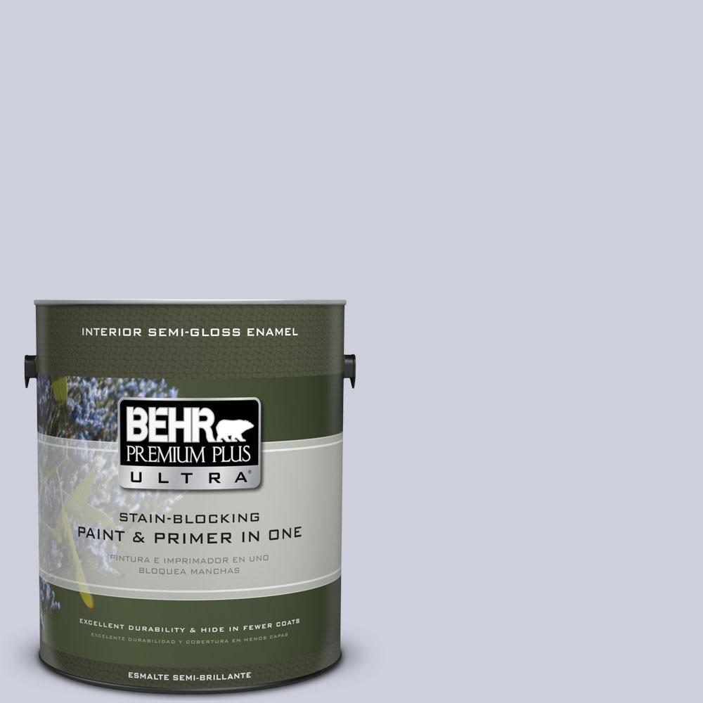 1 gal. #640E-3 Simplicity Semi-Gloss Enamel Interior Paint and Primer in
