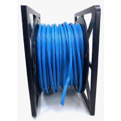 328 ft. 100 m Blue Augmented Cat 6A UTP 10GbE Bulk Cable