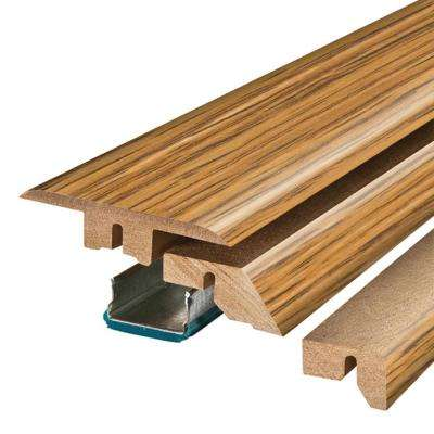 Sugar House Maple 3/4 in. Thick x 2-1/8 in. Wide x 78-3/4 in. Length Laminate 4-in-1 Molding