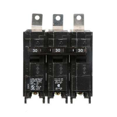 30 Amp 3 Pole Type BLH 22 kA Circuit Breaker
