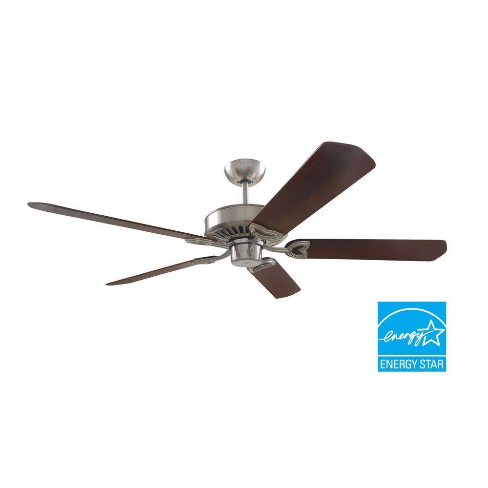 VENTO 60 in. Brushed Nickel Ceiling Fan