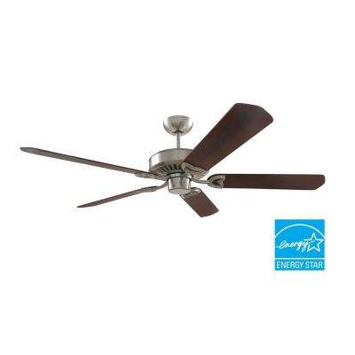 60 in. Brushed Nickel Ceiling Fan