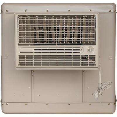 3300 CFM 2-Speed Window Evaporative Cooler for 900 sq. ft. (with Motor and Remote Control)
