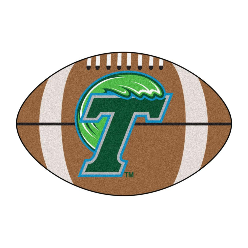 Fanmats Ncaa Tulane University Brown 1 Ft 10 In X 2 Ft