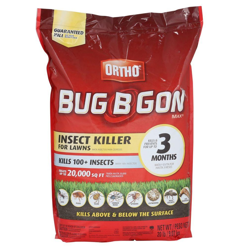 Ortho Bug B Gon 20 Lb Max Insect Granules