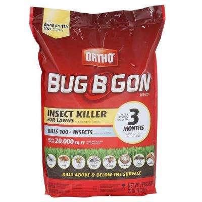 Bug B Gon 20 Lb Max Insect Granules