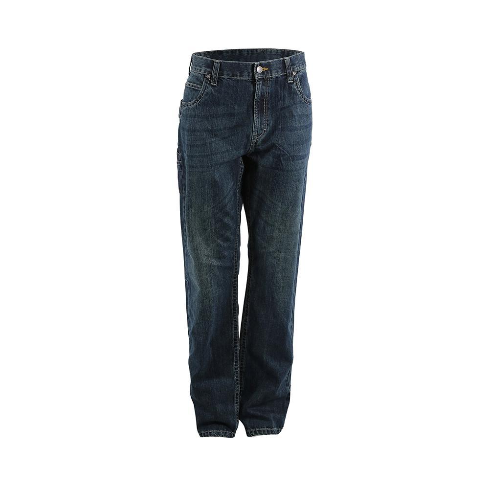 8c6a13b9 Men's 32 in. x 30 in. Granite Cotton Ringspun Denim Quarry Carpenter Jeans