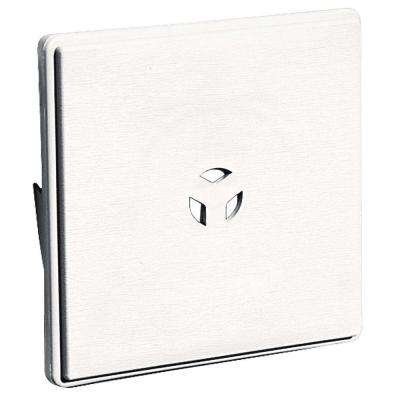 6.625 in. x 6.625 in. #117 Bright White Dutch Lap Surface Universal Mounting Block