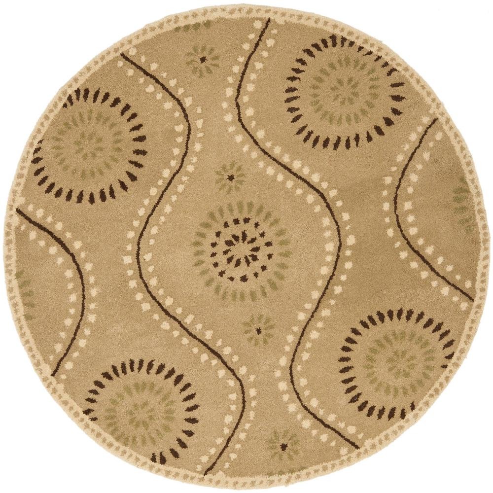 Perfect Safavieh Martha Stewart Alpaca 4 Ft. X 4 Ft. Round Area Rug