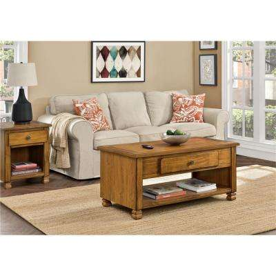 San Antonio Tuscany Oak Storage Coffee Table
