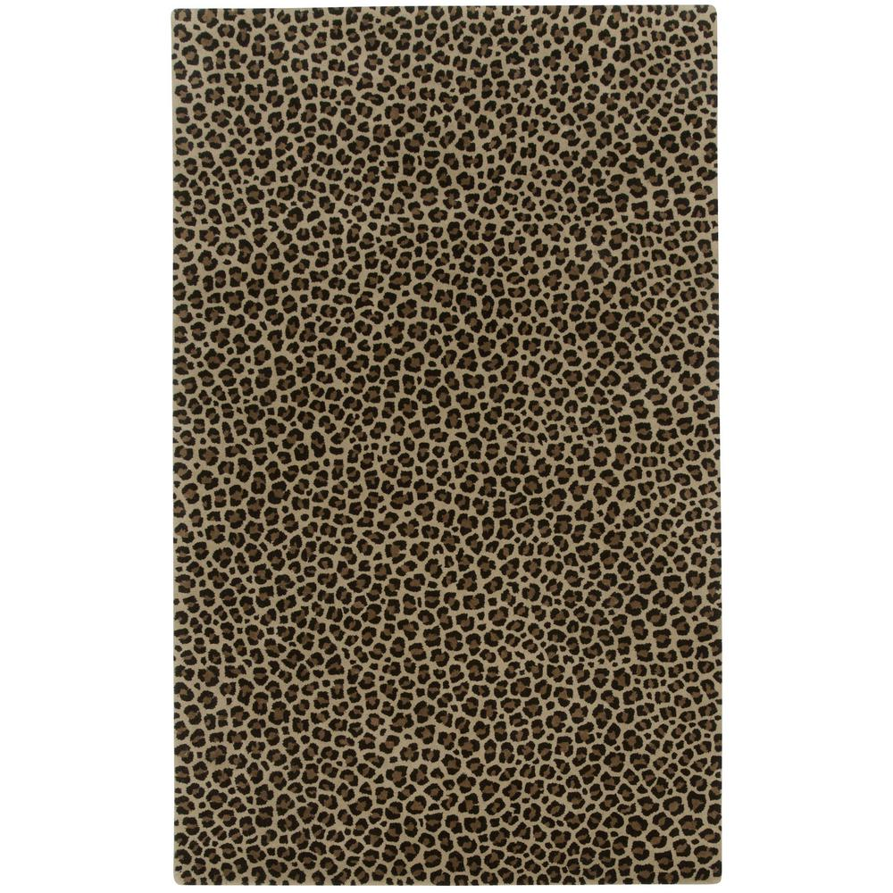 Capel Expedition Leopard Cocoa 9 Ft X 12 Area Rug