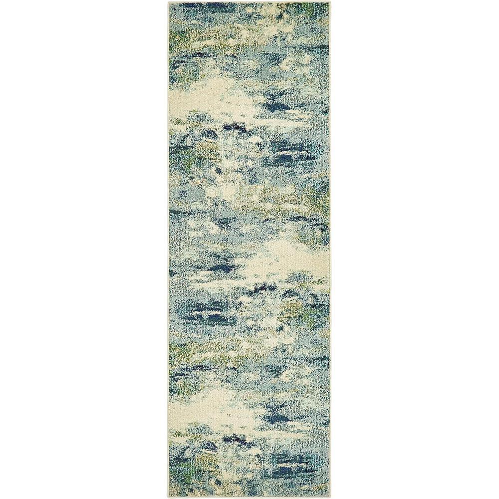 Chromatic Avalon Light Blue 2' 2 x 6' 7 Runner Rug