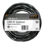 125 ft. 8/3 Black NM-B Wire