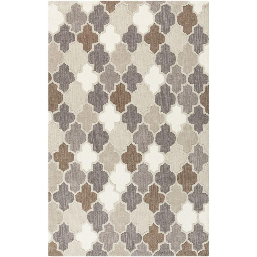 Junsele Gray 2 ft. x 3 ft. Indoor Area Rug
