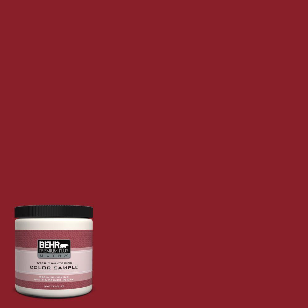 BEHR Premium Plus Ultra 8 oz. #ECC-32-3 Cherry Tree Interior/Exterior Paint Sample