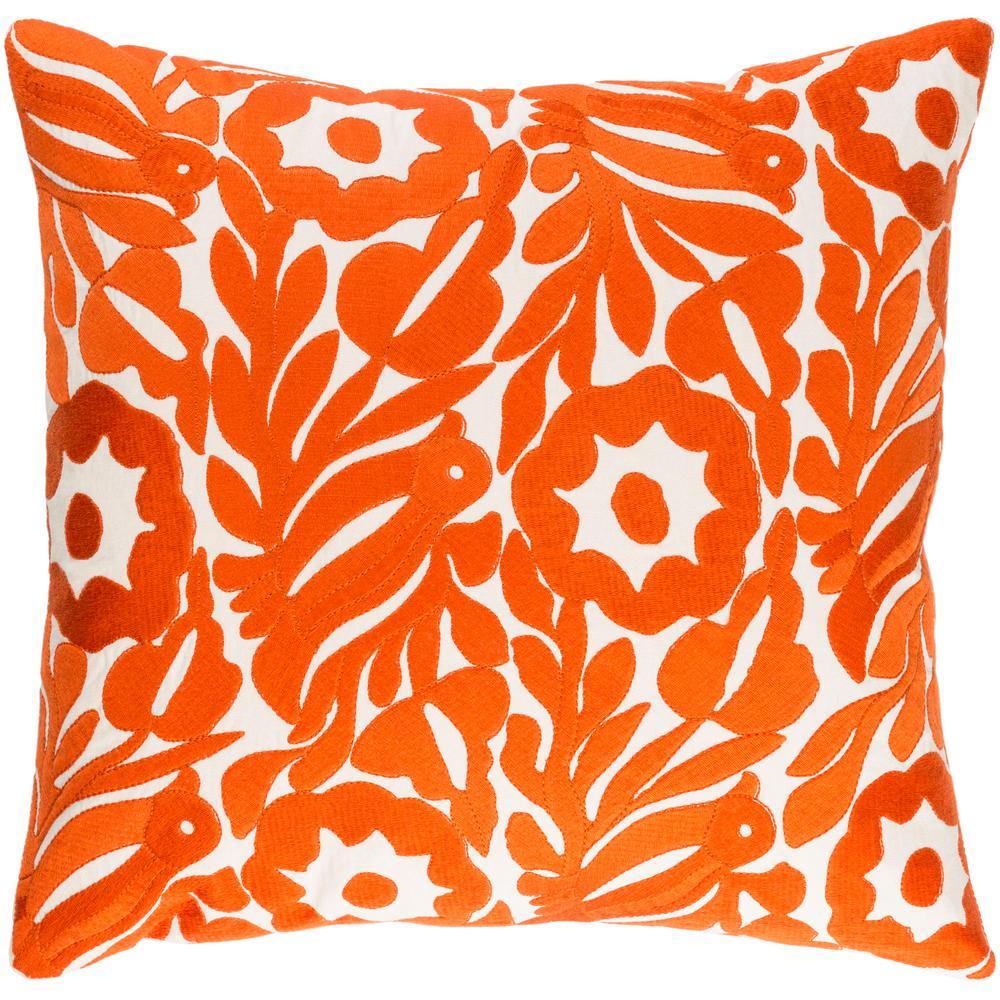 Mid Century Modern Orangespeaches Throw Pillows Home Decor