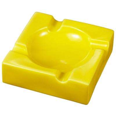 Donovan Yellow Ceramic Cigar Ashtray