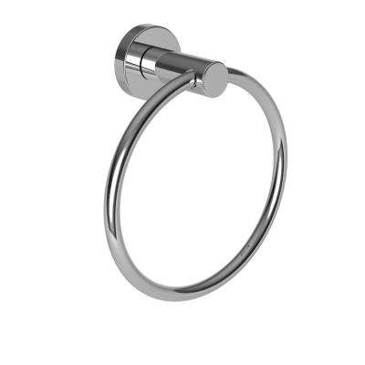 Bronwen Towel Ring in Polished Chrome