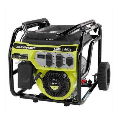 5,500 Running Watt Gasoline Powered Portable Generator