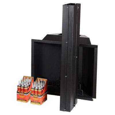 40 in. x 36 in. x 60 in. Outdoor Fireplace Insert Kit