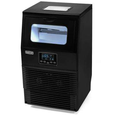 Built-in 66 lbs. Ice Maker in Black with LCD Indicator and Auto-Control