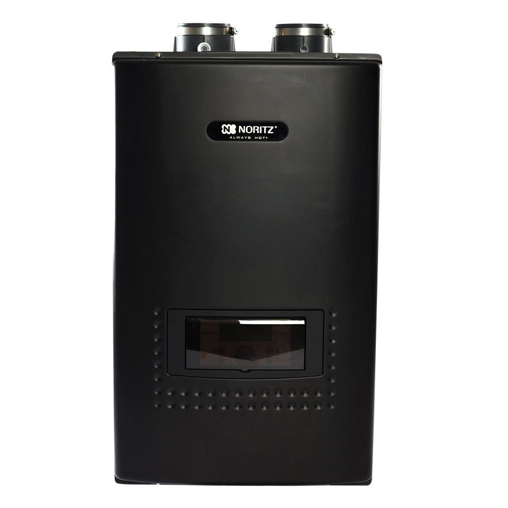 Noritz Indoor Residential Condensing Natural Gas Combination Boiler, 199,000 Btuh