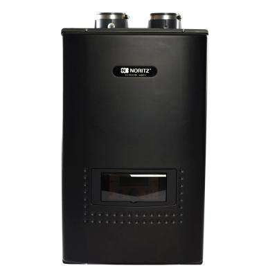 Indoor Residential Condensing Natural Gas Wall Mounted Combination Boiler and Tankless Hot Water Heater - 199,000 BTU/H