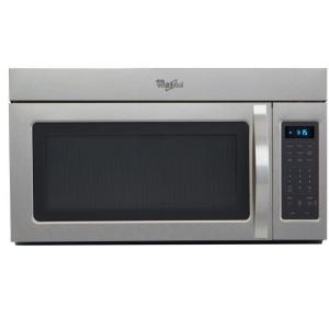 Whirlpool 1.7 cu. ft. Over the Range Microwave in ...
