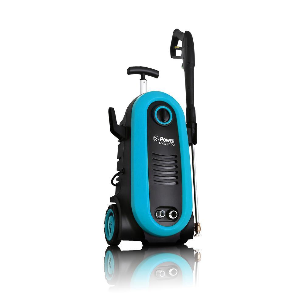2200 PSI 1.76 GPM Electric Pressure Washer in Blue