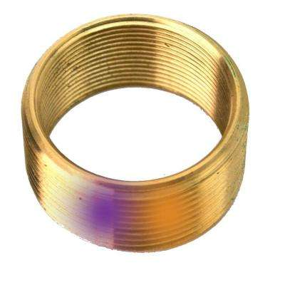 Convert 1.375 in. x 16 Threads to 1.6615 in. x 18 Threads Brass Bushing
