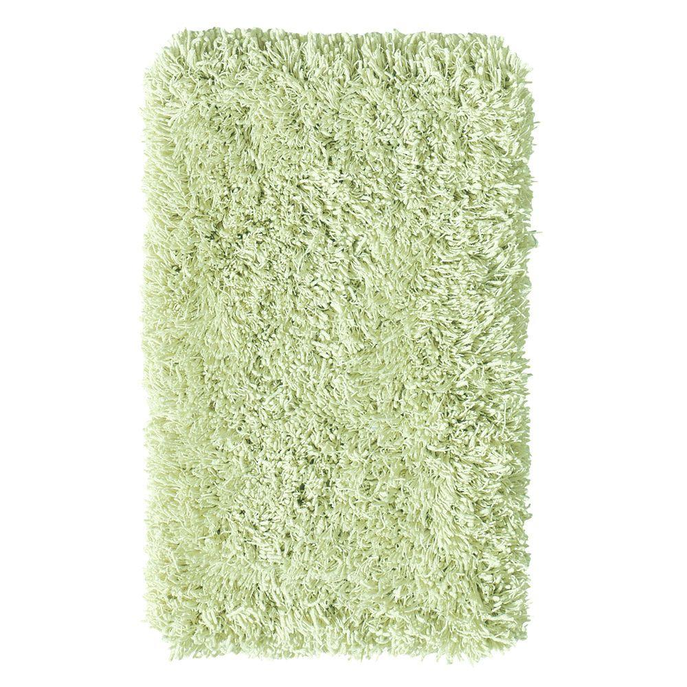 Home Decorators Collection Ultimate Shag Seafoam Green 6 ft. x 9 ft. Area Rug