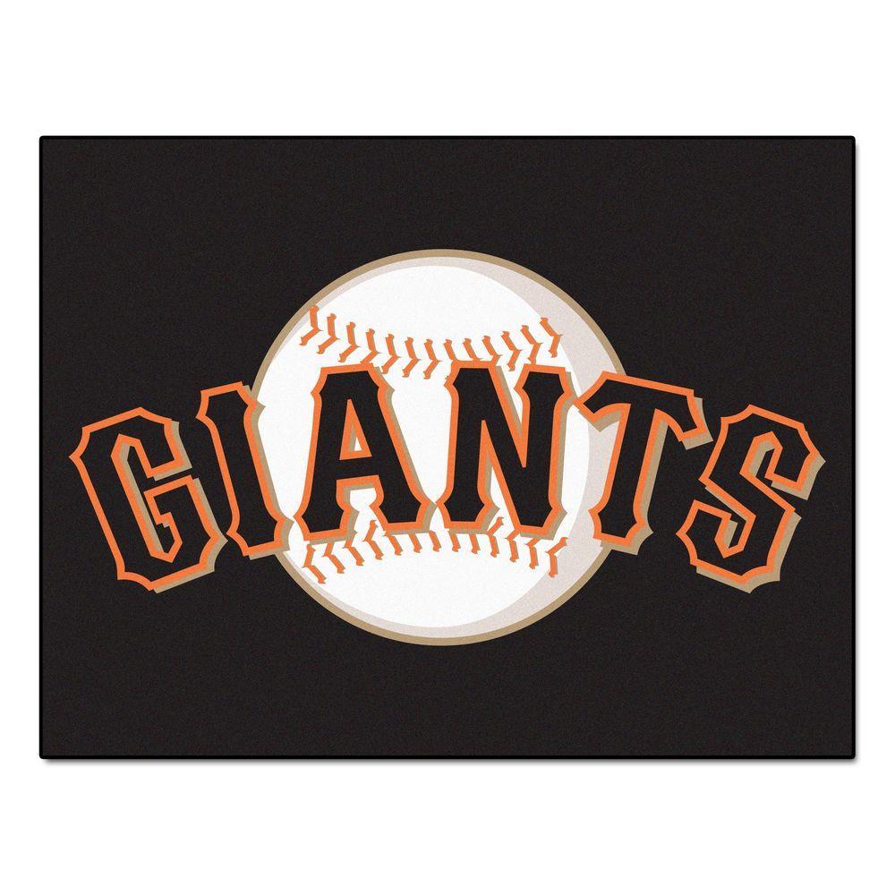 MLB San Francisco Giants Black 2 ft. 10 in. x 3