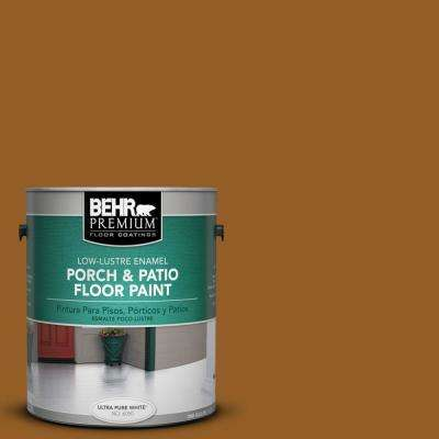 1 gal. #SC-134 Curry Low-Lustre Porch and Patio Floor Paint