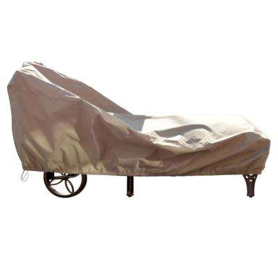 All-Weather Protective Single Chaise Lounge Cover