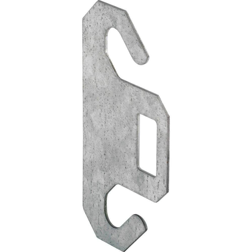 Prime-Line Dual Spring Hook Plate for 3 in. Pulley