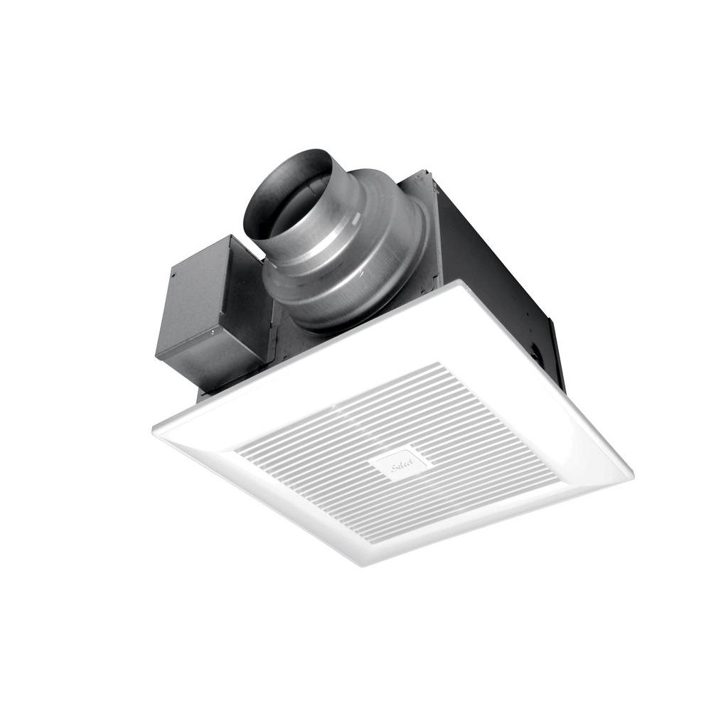Panasonic WhisperGreen Select CFM Customizable Ceiling - Panasonic 150 cfm bathroom fan