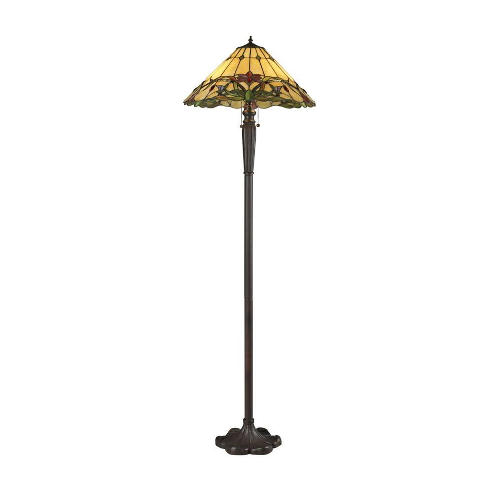 Filament Design Sunrise 63 in. Chestnut Bronze Floor Lamp
