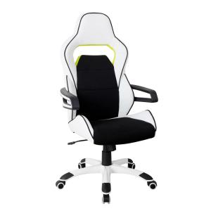 Techni Mobili Ergonomic Essential Racing Style White Home ... on blue race car desk chair, retro style office chair, racing computer chair, racing furniture, camaro racing car office chair, antique style office chair, audi racing office chair, gt omega pro racing office chair, sitting in a chair, racing seats, racing chair xbox one, western style office chair, car style office chair, racing style swivel chair,
